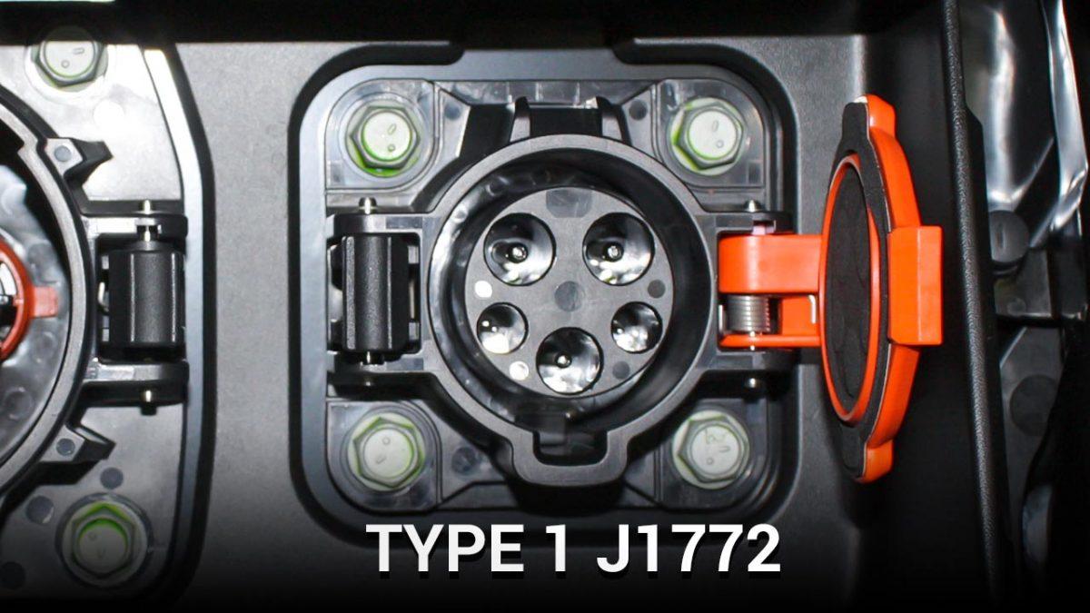 Type 1 J1772 plug